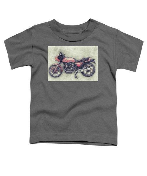 Moto Guzzi Le Mans 1 - Sports Bike - 1976 - Motorcycle Poster - Automotive Art Toddler T-Shirt