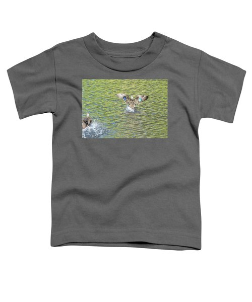Mottled De-throttled Toddler T-Shirt