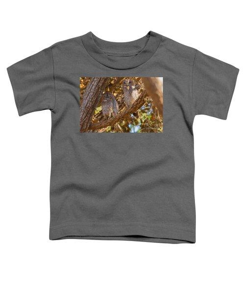 Mottled Wood Owls, India Toddler T-Shirt