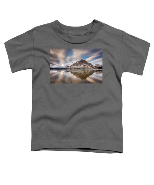 Mount Crowfoot Reflection Toddler T-Shirt