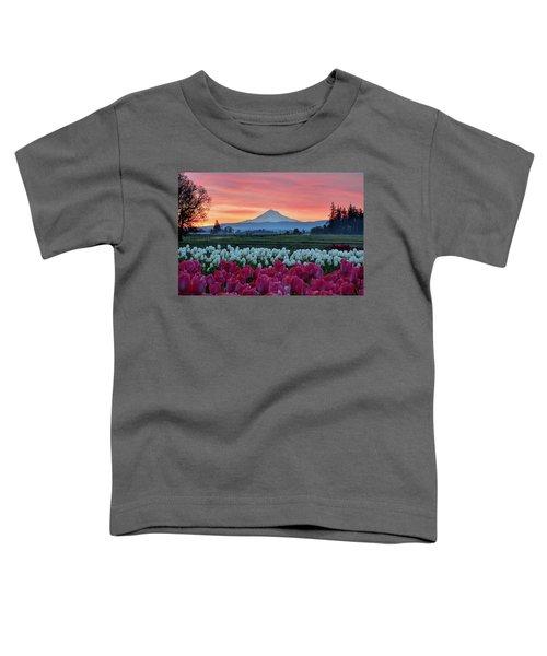 Mount Hood Sunrise Toddler T-Shirt