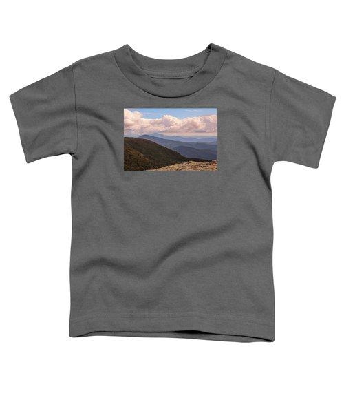 Mount Mansfield Vermont Toddler T-Shirt