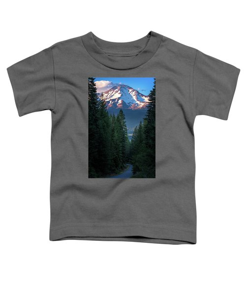 Mount Shasta - A Roadside View Toddler T-Shirt