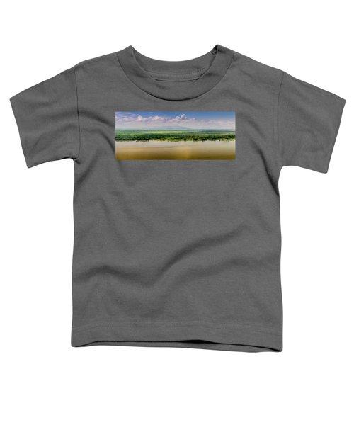 Mountain Beyond The River Toddler T-Shirt