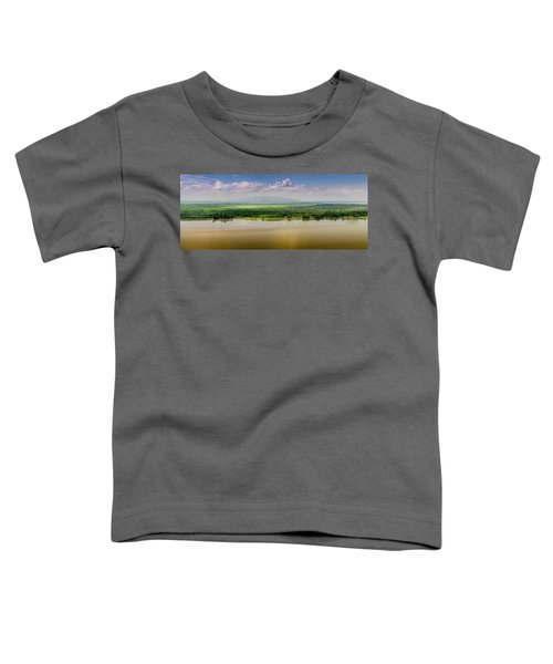 Mountain Beyond The River Toddler T-Shirt