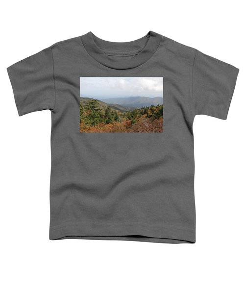 Mountain Long View Toddler T-Shirt