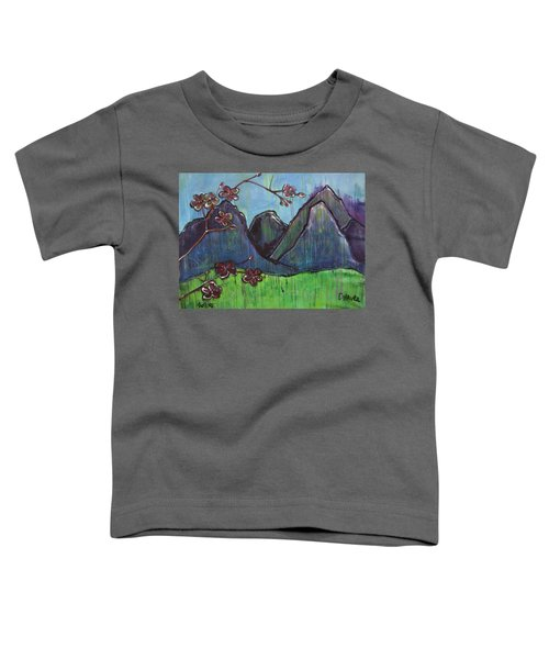 Copper Mountain Pose Toddler T-Shirt