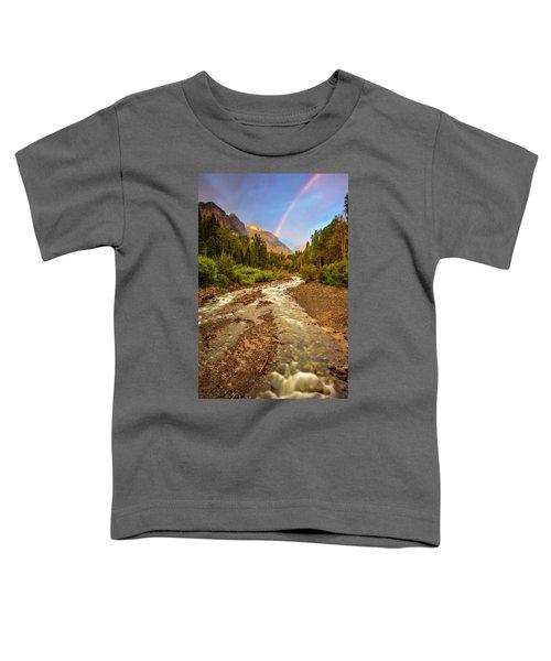 Mountain Rainbow Toddler T-Shirt