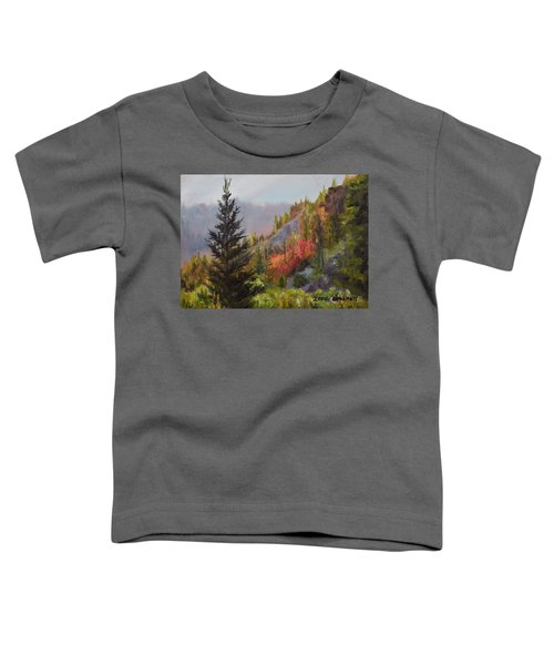 Mountain Slope Fall Toddler T-Shirt