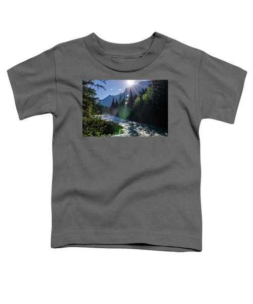 Mountain Sunburst Toddler T-Shirt