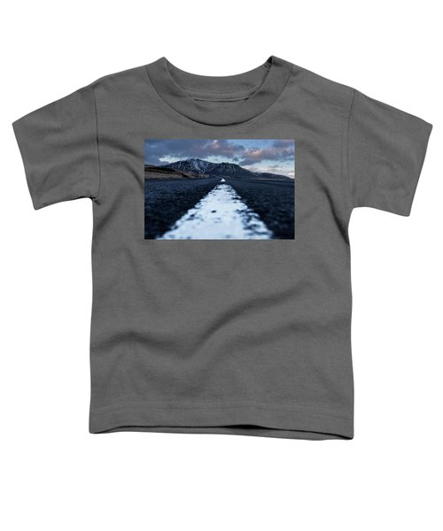 Mountains In Iceland Toddler T-Shirt