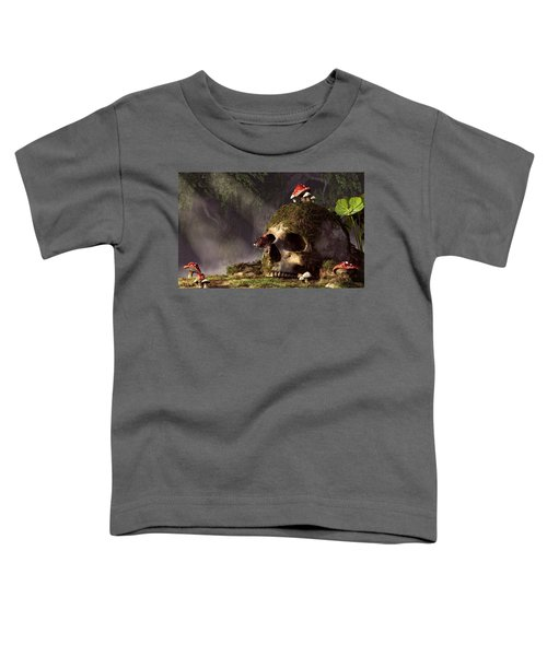 Mouse In A Skull Toddler T-Shirt
