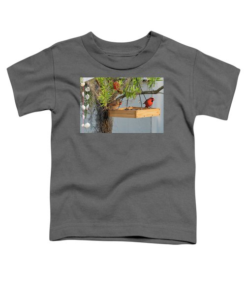 Mr And Mrs Toddler T-Shirt