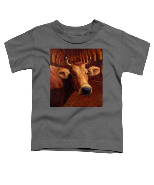 Mrs. O'leary's Cow Toddler T-Shirt