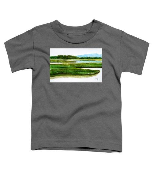 Mt Desert Island Toddler T-Shirt