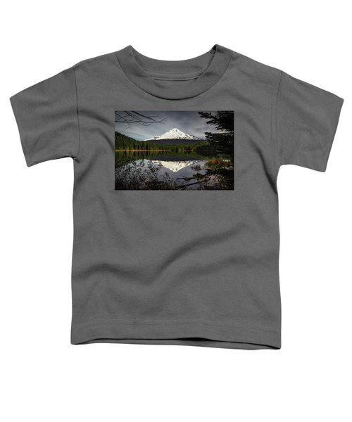 Mt Hood Reflection Toddler T-Shirt