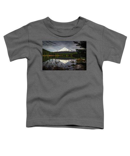 Mt Hood Reflection Toddler T-Shirt