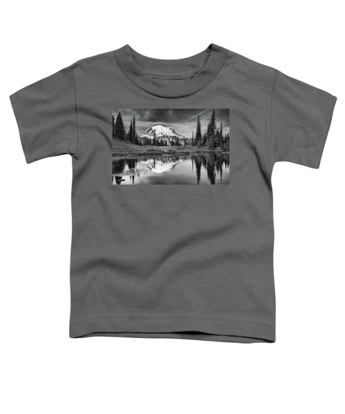 Mt Rainier In Reflection Toddler T-Shirt