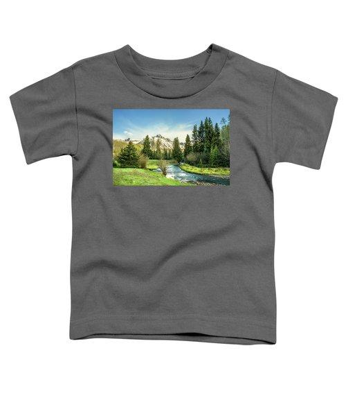 Mt. Sneffels Peak Toddler T-Shirt