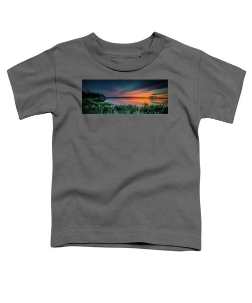Mud Bay Sunset 4 Toddler T-Shirt
