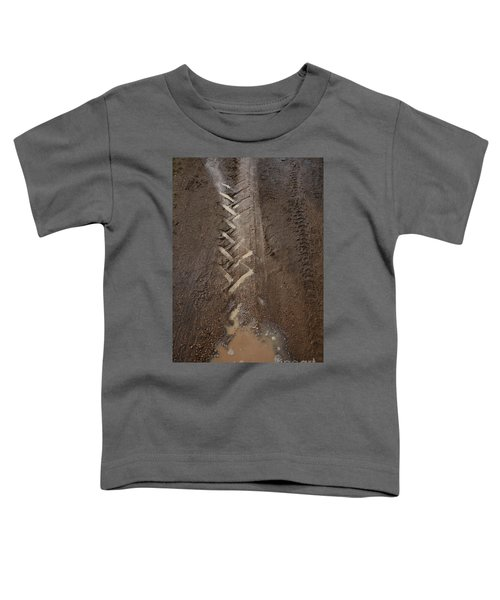 Toddler T-Shirt featuring the photograph Mud Escape by Stephen Mitchell