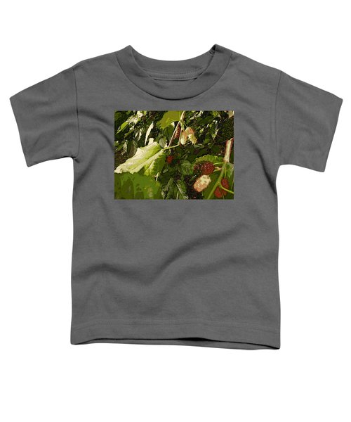 Mulberry Moment Toddler T-Shirt by Winsome Gunning