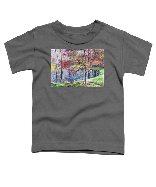 Multi Color Japanese Maple Toddler T-Shirt