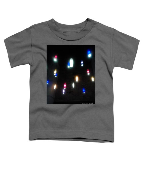 Multi Colored Lights Toddler T-Shirt