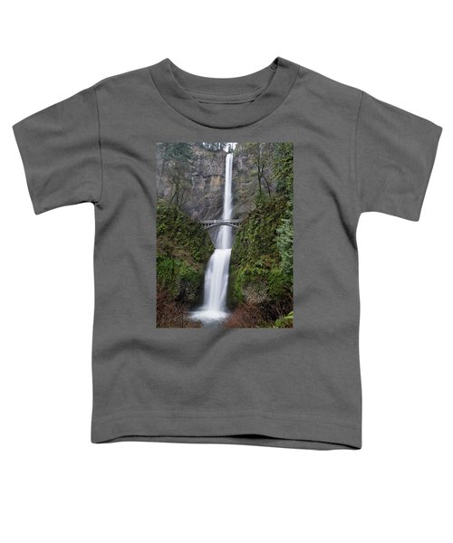Multnomah Falls Toddler T-Shirt