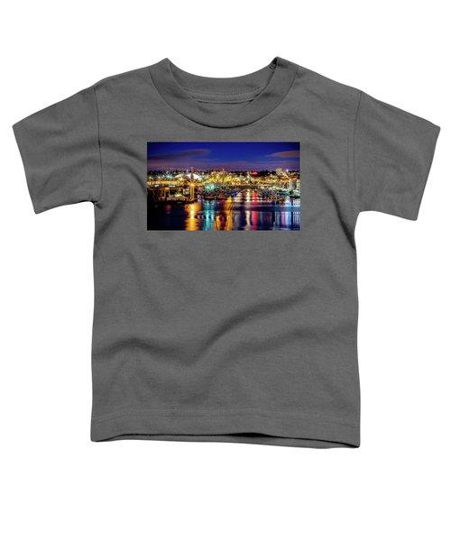 Murray Morgan Bridge View During Blue Hour In Hdr Toddler T-Shirt