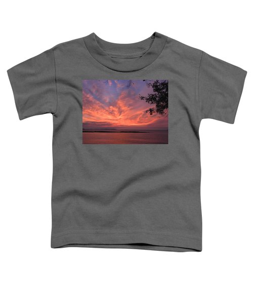 Muscongus Sound Sunrise Toddler T-Shirt