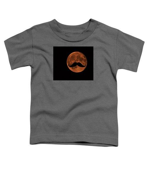 Mustache Moon Toddler T-Shirt