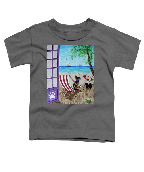 My 3 And The Sea Toddler T-Shirt