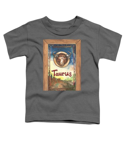 My Taurus Toddler T-Shirt
