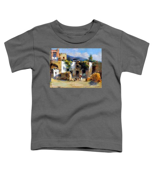 My Uncle Farm House Toddler T-Shirt