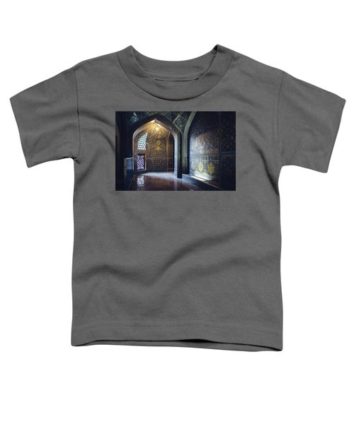Mysterious Corridor In Persian Mosque Toddler T-Shirt