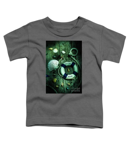 Mystery Aboard The Sunken Cruise Line Toddler T-Shirt