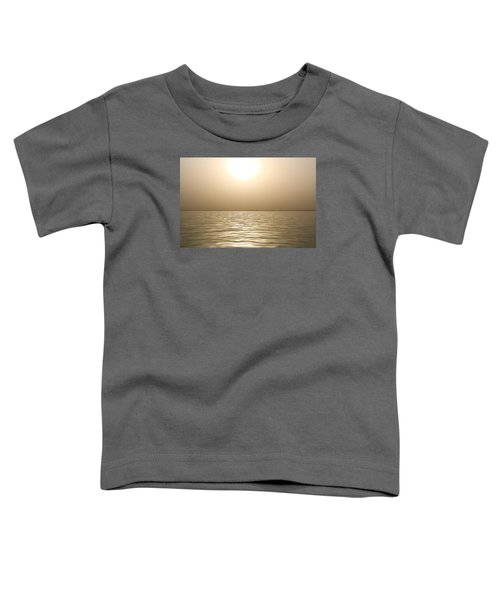 Mystery Sandstorm Sunset- The Red Sea Toddler T-Shirt