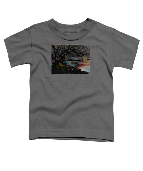 Mystic Sunset Cereal Toddler T-Shirt