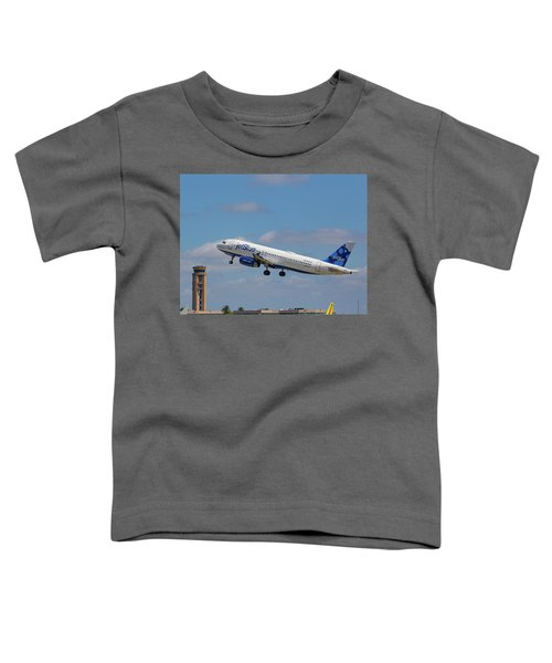 N625jb Jetblue At Fll Toddler T-Shirt
