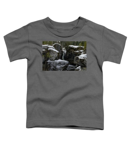 Nairn Falls, Winter Toddler T-Shirt