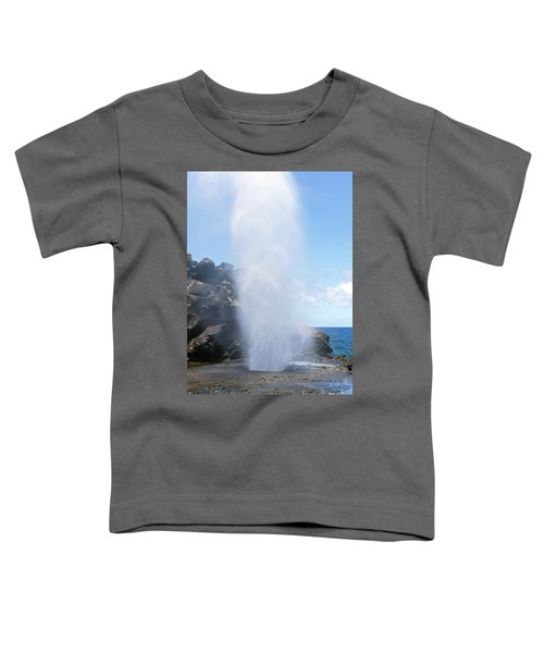 Nakalele Blowhole Toddler T-Shirt