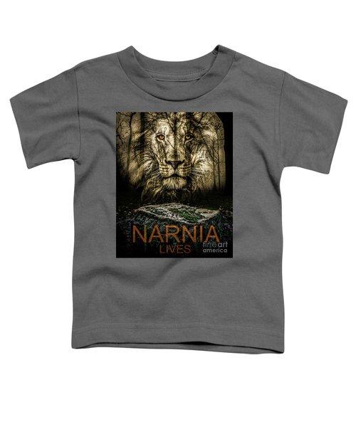 Narnia Lives Toddler T-Shirt