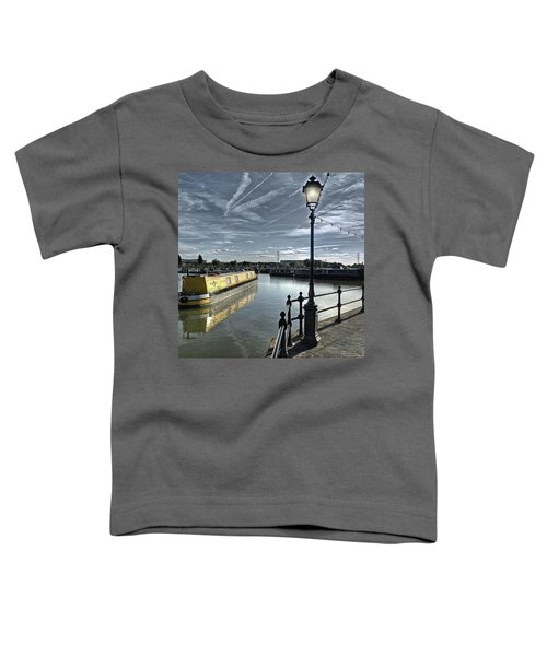 Narrowboat Idly Dan At Barton Marina On Toddler T-Shirt