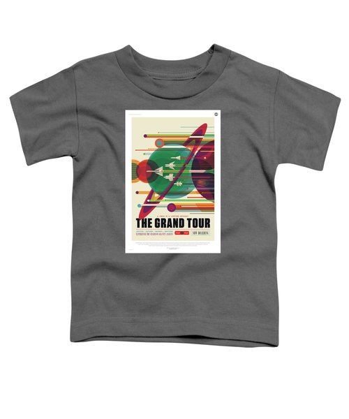 Nasa The Grand Tour Poster Art Visions Of The Future Toddler T-Shirt