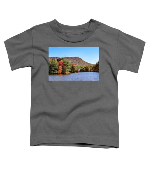 Nashawannuck Pond Fall Colors Toddler T-Shirt
