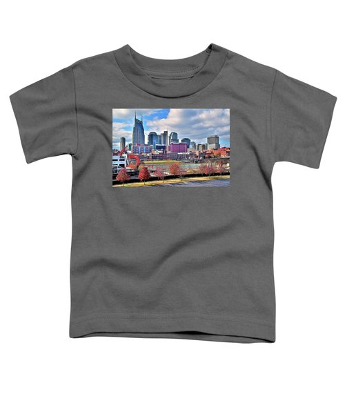 Nashville Clouds Toddler T-Shirt by Frozen in Time Fine Art Photography