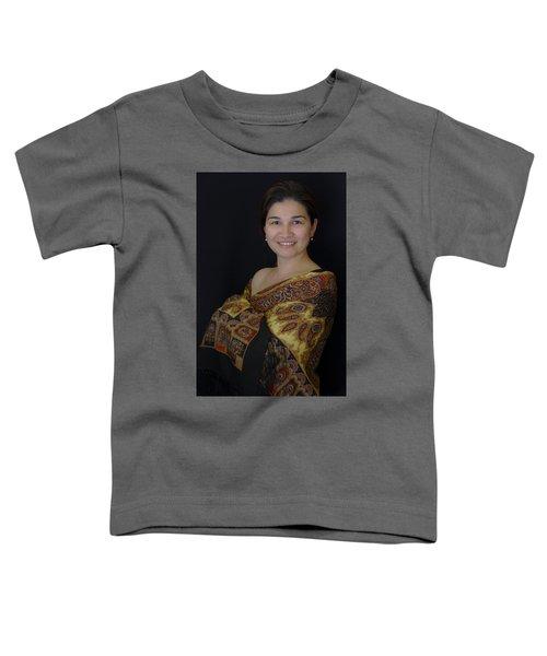Nasiba. Girl And Her Pearls Toddler T-Shirt