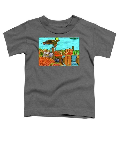Nassau Fruit Seller At Waterside Toddler T-Shirt