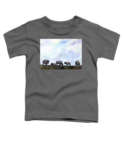 National Treasure - Bison Toddler T-Shirt